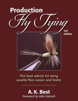 Image for Production Fly Tying: A Collection of Ideas, Notions, Hints, & Variations on the Techniques of Fly Tying
