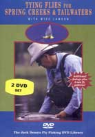 Image for Tying Flies for Spring Creeks & Tailwaters (DVD)