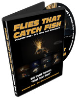 Image for Flies That Catch Fish; Volume One - Dry Flies and Emergers (DVD)
