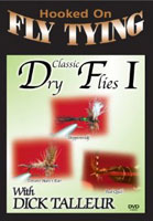 Image for Hooked on Fly Tying; Classic Dry Flies #1 (DVD)