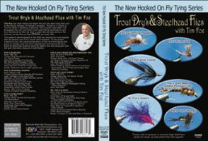 Image for Hooked On Fly Tying: Trout Dries & Steelhead Flies (DVD)